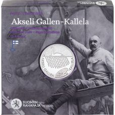 Suomi 2015 10 € Akseli Gallen-Kallela HOPEA PROOF
