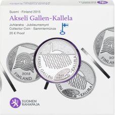 Suomi 2015 20 € Akseli Gallen-Kallela HOPEA PROOF