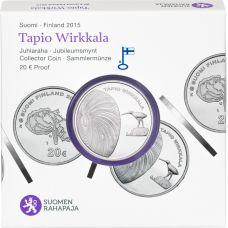 Suomi 2015 20 € Tapio Wirkkala HOPEA PROOF