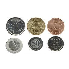 Lebanon 1996-2012 25-500 Livres UNC