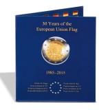 Kolikkokansio, Leuchtturm PRESSO 2 € EU-lippu 30v kolikoille (347757)