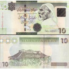 Libya 2011 10 Dinars UNC