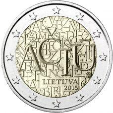 Liettua 2015 2 € Liettuan kieli UNC