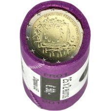 Ranska 2015 2 € EU:n lippu 30v RULLA