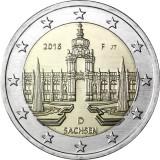 Saksa 2016 2 € Sachsen F UNC
