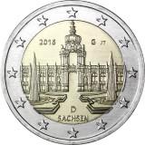 Saksa 2016 2 € Sachsen G UNC