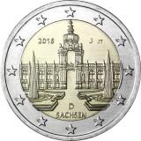 Saksa 2016 2 € Sachsen J UNC