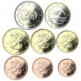 Suomi 2016 1 c – 2 € Irtokolikot UNC