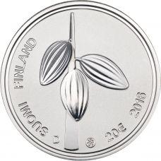 Suomi 2016 20 € Karl Fazer ja suomalaisuus HOPEA PROOF