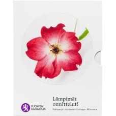 Suomi 2016 Rahasarja Lämpimät onnittelut BU