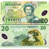 Uusi-Seelanti 2006 20 Dollar P187b UNC