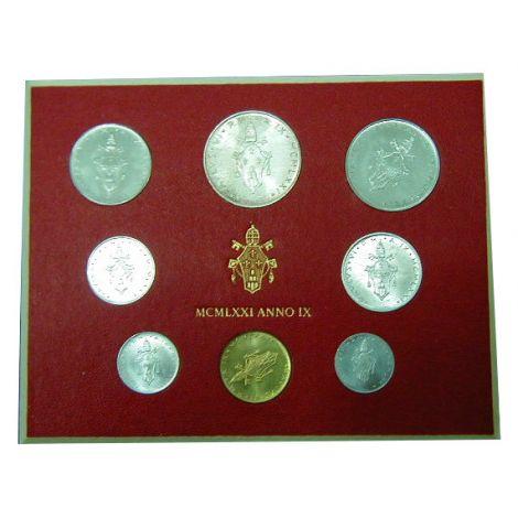 Vatikaani 1971 1-500 Lire UNC