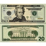 Yhdysvallat 2013 $20 UNC