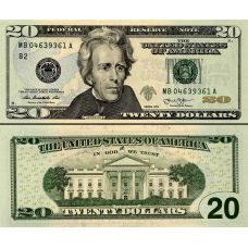 Yhdysvallat 2013 $20 P541-B UNC
