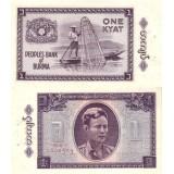 Burma 1965 1 Kyat P52 CIRC