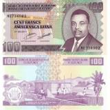 Burundi 2011 100 Francs P44b UNC