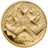 Puola 2008 2 Złoty 90th Anniversary of Regaining Independence by Poland UNC