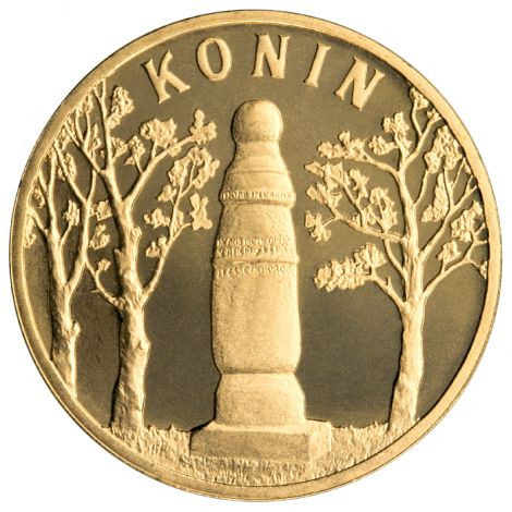 Puola 2008 2 Złoty Konin UNC
