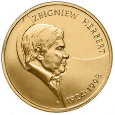 Puola 2008 2 Złoty Zbigniew Herbert UNC