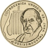 Puola 2010 2 Złoty 95th Anniversary of the Birth of rev. Jan Twardowski UNC