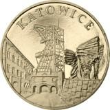 Puola 2010 2 Złoty Katowice UNC