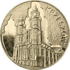 Puola 2010 2 Złoty Krzeszów UNC