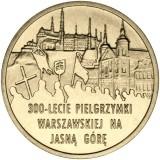 Puola 2011 2 Złoty 300th Anniversary of Warsaw Pilgrimage to the Marian Shrine of Jasna Góra in Częstochowa UNC