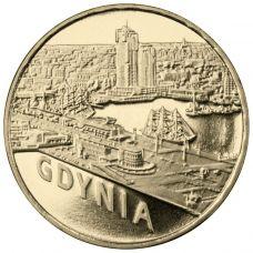 Puola 2011 2 Złoty Gdynia UNC