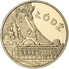 Puola 2011 2 Złoty Łódź UNC