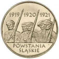 Puola 2011 2 Złoty Silesian Uprisings UNC