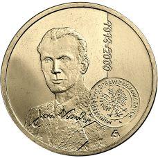 Puola 2014 2 Złoty Centenary of the birth of Jan Karski UNC