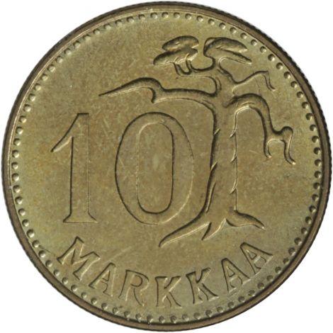 Suomi 1962 10 Markkaa KL8-9