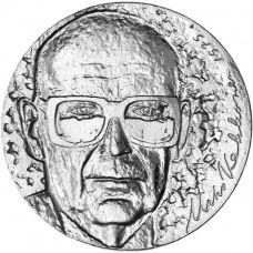Suomi 1975 10 Markkaa Presidentti Kekkonen 75 vuotta kl 9 HOPEA