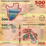 Burundi 2015 500 Francs AUNC
