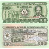 Mosambik 1989 100 Meticais P130c UNC