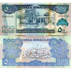 Somalimaa 2011 500 Shillings P6h UNC