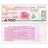 Argentiina Tucuman 1991 100 Australes PS2715 UNC