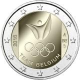 Belgia 2016 2 € Olympialaiset Riossa UNC