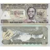 Etiopia 2008 1 Birr P46e UNC