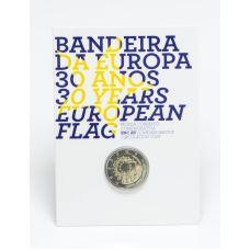 Portugali 2015 2 € EU:n lippu 30v Coincard BU