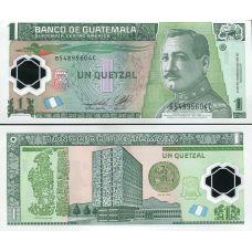 Guatemala 2011 1 Quetzal UNC