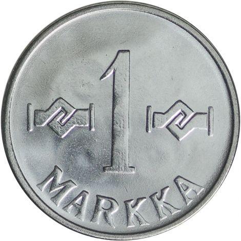 Suomi 1962 1 Markka UNC
