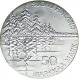 Suomi 1985 50 Markkaa Kalevala 150v BU