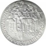 Suomi 1990 100 Markkaa Sotainvalidien juhlaraha BU