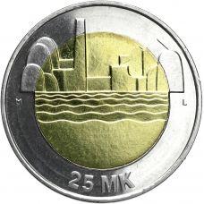 Suomi 1997 25 Markkaa Itsenäinen Suomi 80v UNC