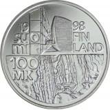 Suomi 1998 100 Markkaa Alvar Aalto BU