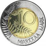 Suomi 2001 10 Markkaa UNC