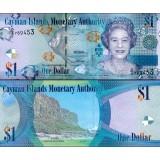 Caymansaaret 2010 $1 P38c UNC