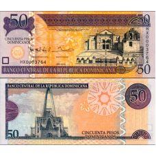 Dominikaaninen tasavalta 2013 50 Pesos Dominicanos P183 UNC