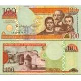 Dominikaaninen tasavalta 2013 100 Pesos Dominicanos P184 UNC